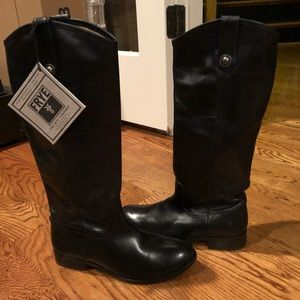 Frye Melissa Black boots 6.5 medium